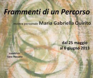 Mostre: Mostra personale di Maria Gabriella Quirito