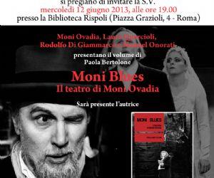 """""""Moni Blues. Il teatro di Moni Ovadia"""""""
