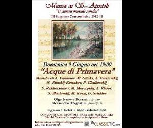Concerti - Concerto per celebrare due secoli di romanza russa