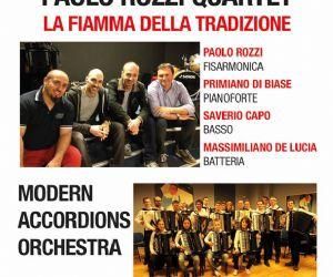 Paolo Rozzi Quartet e Modern Accordions Orchestra
