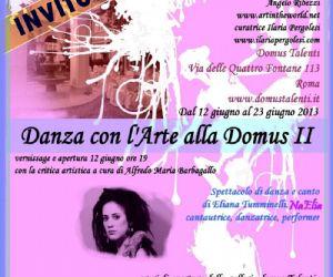 Danza con l'Arte alla Domus II edizione