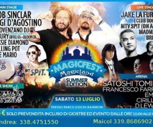 Magic Fest Summer Edition @ Rainbow Magic Land
