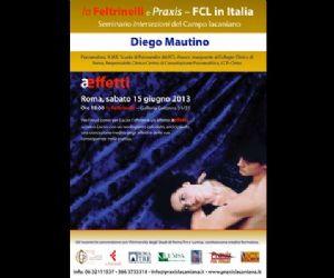 Corsi e seminari: Conferenza Pubblica di Diego Mautino