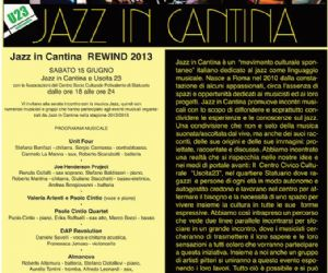 Jazz in Cantina