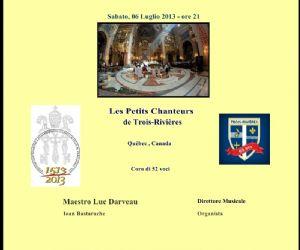 """""""Les Petits Chanteurs de Trois-Rivières"""""""
