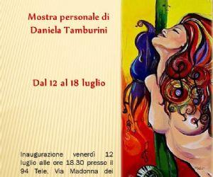 Mostre: La mostra personale della pittrice Daniela Tamburini