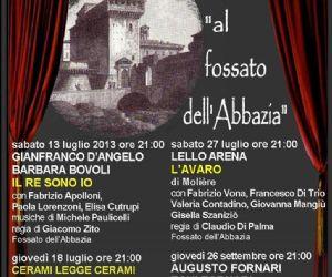 Festival: Anche per l'estate 2013 Grottaferrata si conferma salotto culturale