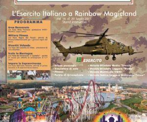 Attività: L'Esercito Italiano a Rainbow Magicland