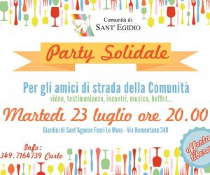 Serate: Party Solidale Comunità di Sant'Egidio Nomentano