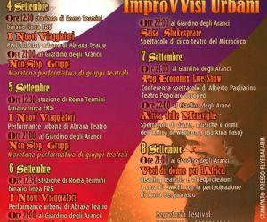 Festival: ImproVVisi Urbani 19° Festival Internazionale del Teatro Urbano