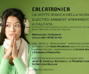 Festival: CALCATRONICA a Calcata