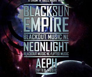 Serate: Venerdì 13 settembre BLACK SUN EMPIRE (NL) + NEONLIGHT (DE) + AEPH (IT) al Brancaleone