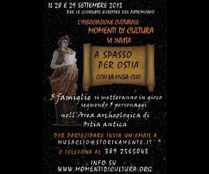 Visite guidate: A Spasso per Ostia con la Musa Clio