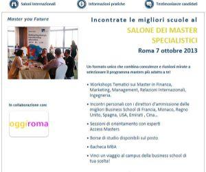 Corsi e seminari: Salone dei Master Specialistici Internazionali