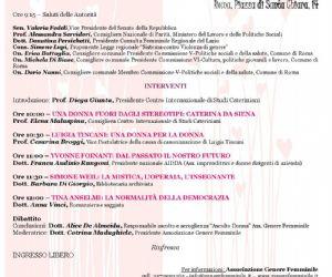 Corsi e seminari: Seminario organizzato dell'Associazione Genere Femminile