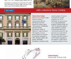 """Attività - Dexia Crediop presenterà una selezione di capolavori, appartenenti alla propria collezione d'arte, attraverso l'allestimento di una mostra """"Il mito di Roma"""