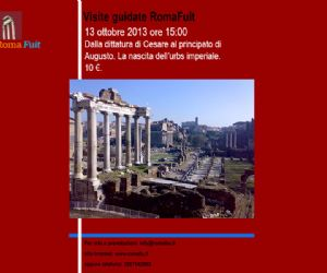 Visite guidate: Dalla dittatura di Cesare al principato di Augusto