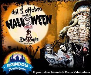 Spettacoli - Per il mese di Halloween si inaugura la nuova attrazione horror del parco divertimenti di Valmontone