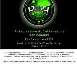 Attività - Primo Salone di letteratura per ragazzi di Roma