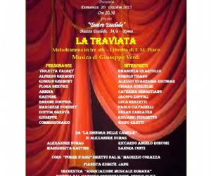 Spettacoli - Al Teatro Euclide il Melodramma in tre atti – Libretto di F. M. Piave Musica di Giuseppe Verdi