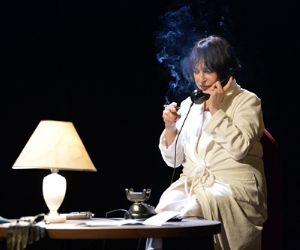 Spettacoli - Al Piccolo Eliseo Patroni Griffi: Adriana Asti in La voce umana e Il bell'indifferente
