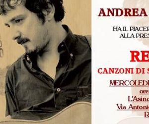 Concerti - Andrea Tarquini all'Asino che Vola
