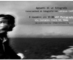 Attività - Conversazioni di fotografia con Lorenzo Castore