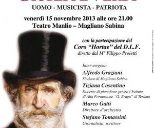 Concerti - Concerto organizzato dal Comune di Magliano Sabina per il bicentenario della nascita di Verdi