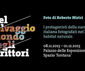Mostre - I protagonisti della narrativa italiana fotografati nel loro habitat naturale di Roberto Nistri