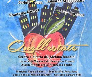 Spettacoli - Per quattro settimane al Teatro Testaccio di Roma è in scena una nostalgica storia scritta e diretta da Stefano Mondini