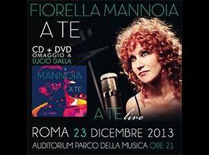 Concerti - A Te, l'omaggio che Fiorella Mannoia ha voluto dedicare a Lucio Dalla