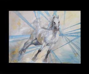 """Gallerie - 'artista italo-georgiana Natia Japaridze espone una parte dei suoi lavori in una mostra dal titolo """"Spazi"""""""
