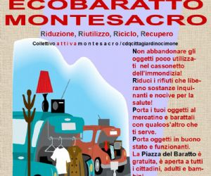 Attività - Domenica 26 gennaio 2014 a Piazza Sempione si svolgerà la prima edizione dell'ECOBARATTO