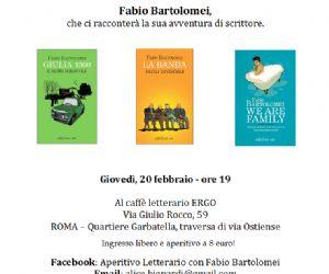 Libri - Le Edizioni E/O invitano all'Aperitivo Letterario con Fabio Bartolomei
