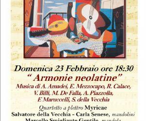 Concerti - Armonie Neolatine