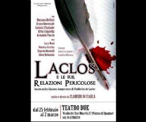 Spettacoli - Laclos e le sue relazioni pericolose