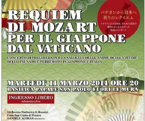 Concerti - Requiem di Mozart per il Giappone dal Vaticano