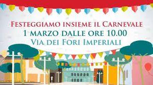 Altri eventi - A Roma il Carnevale si festeggia ai Fori