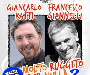 Uno spettacolo con Giancarlo Ratti e il tenore Francesco Giannelli