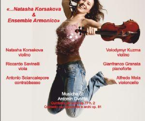 Concerti - Natasha Korsakova & Ensemble Armonico