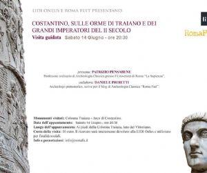 Visite guidate - L'Arco di Costantino e la Colonna Traiana