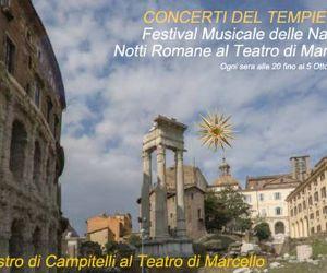 Concerti - Notti romane al Teatro di Marcello 2014