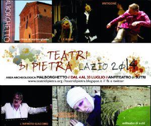 Spettacoli - Teatri di Pietra Lazio