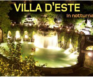 Visite guidate - Villa d'Este di notte