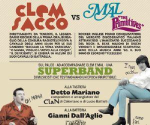 Concerti - Clem Sacco e Mal a Lungo il Tevere... Roma