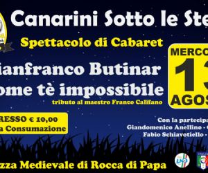Serate - Canarini Sotto le Stelle con Gianfranco Butinar