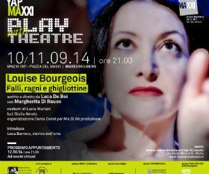 Spettacoli - Louise Bourgeois: falli, ragni e ghigliottine (98 anni e mezzo di vita d'artista)