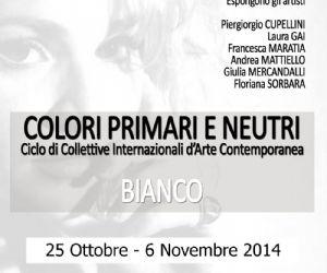 Mostre - Colori Primari e Neutri - BIANCO