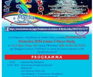 Festeggia il Natale il 14 dicembre con L'Arcobaleno di Marika Onlus al Parco Meda