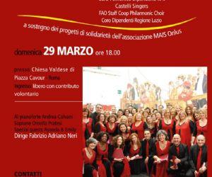 120 voci a sostegno dell'associazione MAIS Onlus